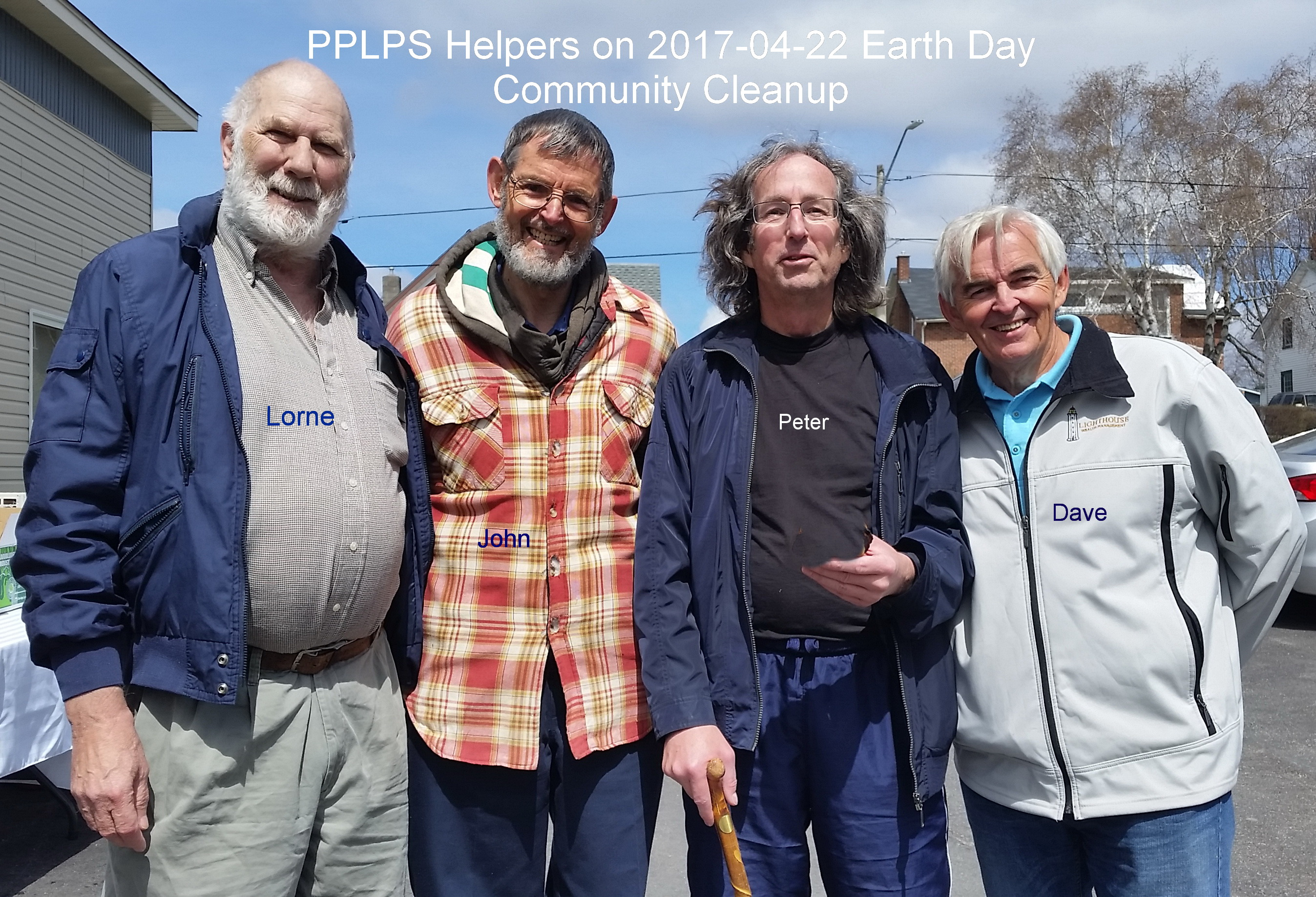 PPLPS volunteers for Earth Day